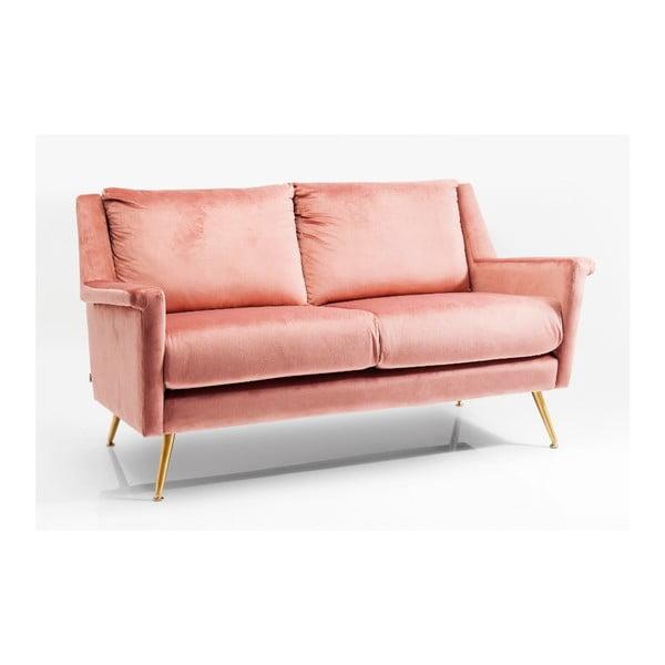 Růžová dvojmístná pohovka Kare Design San Diego