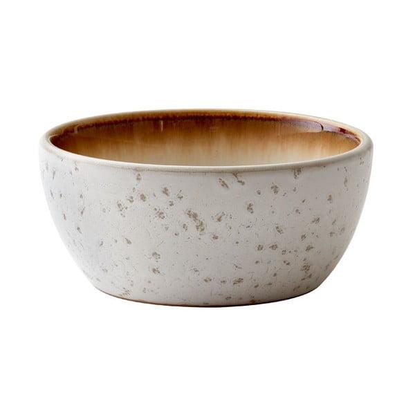 Krémová kameninová servírovací mísa Bitz Basics Cream, ⌀ 12 cm