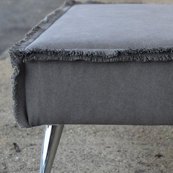 Lavice na sezení Underground, šedá