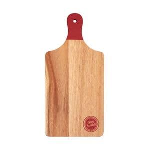 Krájecí prkénko z akáciového dřeva Premier Housewares Scratch, 20 x 42 cm