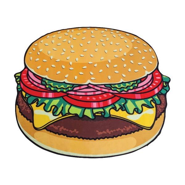 Pătură pentru plajă Big Mouth Inc. Burger, ⌀ 152 cm