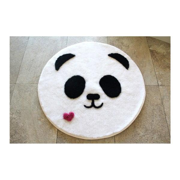 Koupelnová předložka s motivem medvídka pandy Alessia, Ø 90 cm