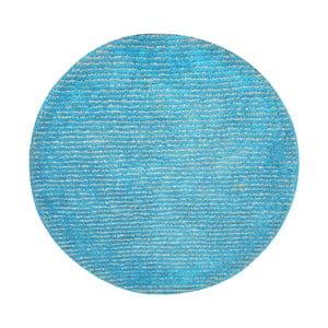 Ručně vyráběný koberec The Rug Republic Modeno Aqua, ⌀ 70 cm