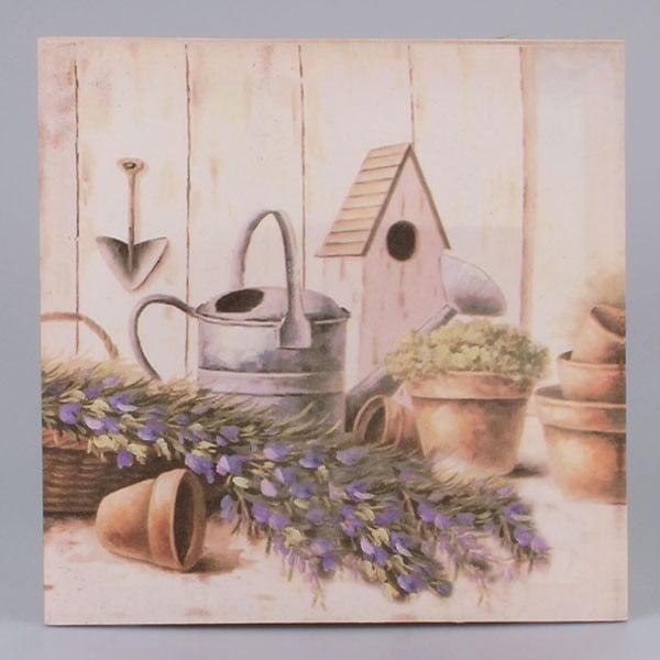 Obraz na plátně Old Garden