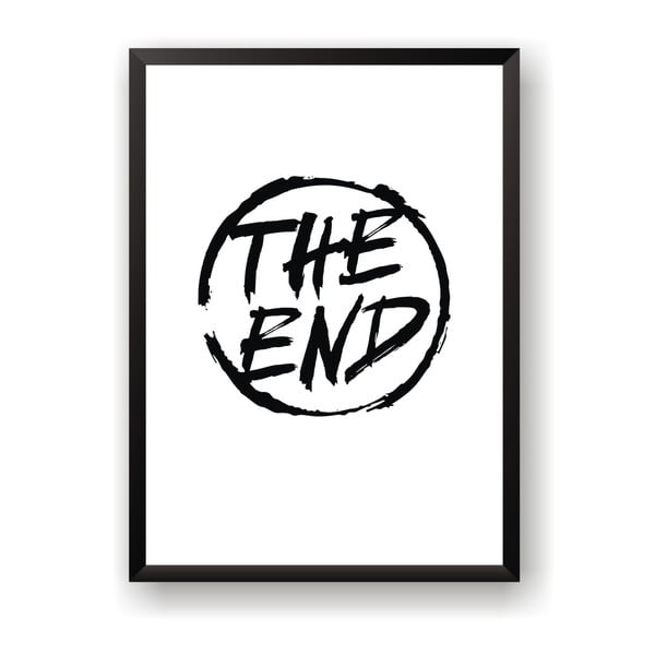 Poster Nord & Co The End, 40 x 50 cm