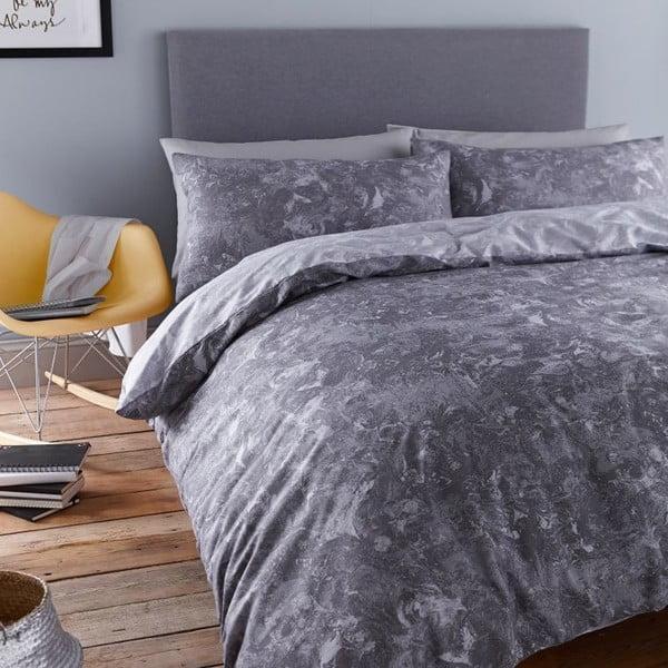 Povlečení Marble Grey, 200x200 cm