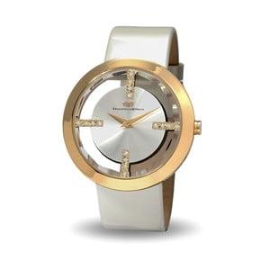 Dámské hodinky ve zlaté barvě s bílým ciferníkem Rhodenwald & Söhne Lucrezia