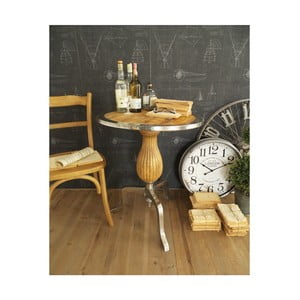 Kávový stolek sdeskou z mangového dřeva Orchidea Milano, ⌀63cm