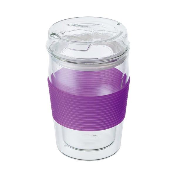 Cestovní hrnek ReCUP, fialový
