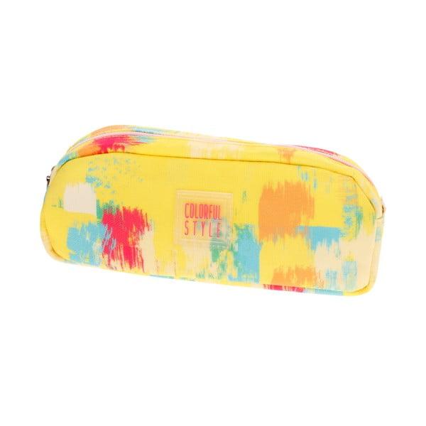 Žlutý penál Languo Colour
