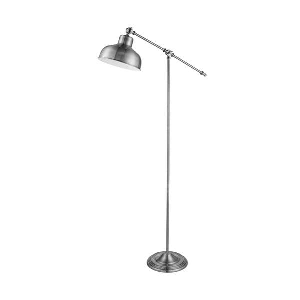 Stojací lampa Macbeth, stříbrná