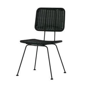 Sada 2 černých židlí De Eekhoorn Hilde