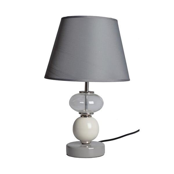 Stolní lampa Šedá Elegance