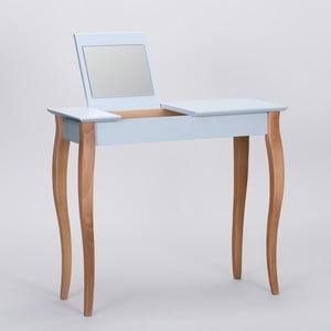 Světle šedý toaletní stolek se zrcadlem Ragaba Dressing Table,délka85cm