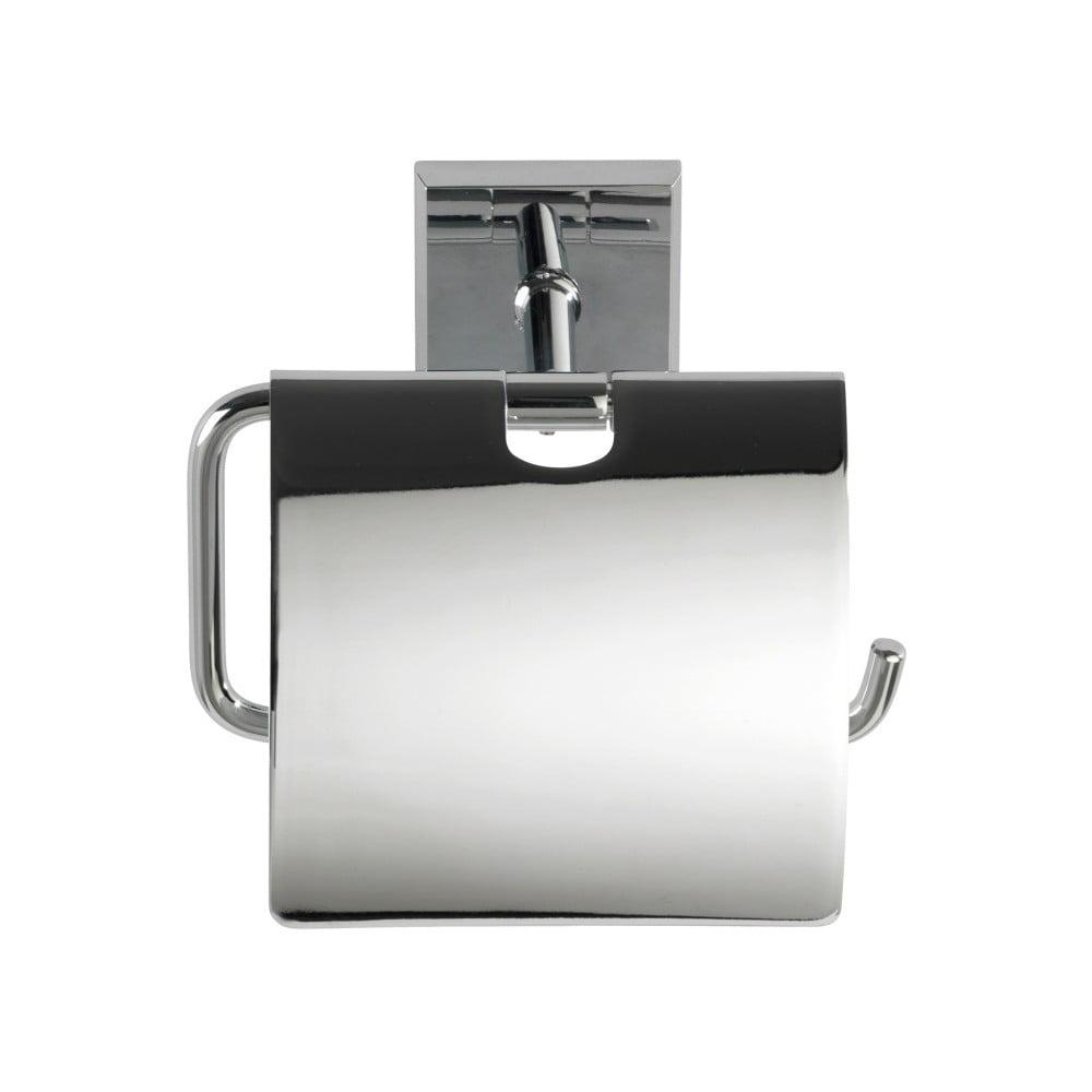 Samodržící stojan s krytkou na toaletní papír Wenko Power-Loc Laceno
