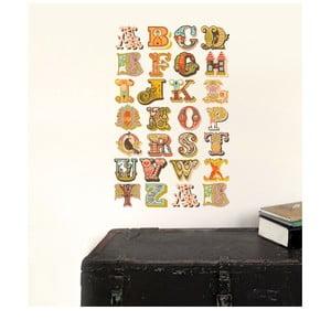 Samolepka Alphabet Small