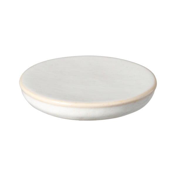 Biela kameninová tácka Costa Nova Roda, ⌀ 16 cm
