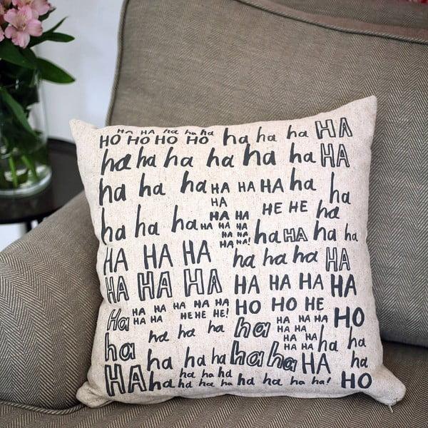 Povlak na polštář Laughter, 45x45 cm