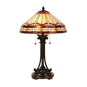 Tiffany stolní lampa Cream