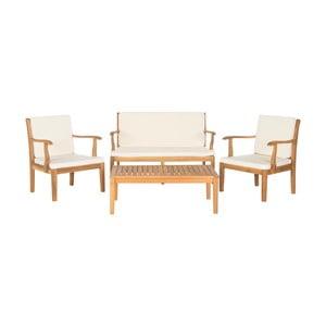 Set zahradního nábytku z akátového dřeva Safavieh Lugano