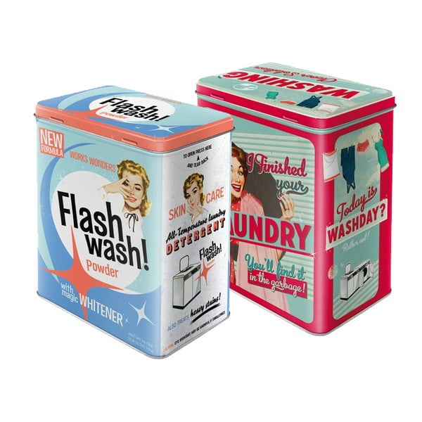 Laundry & Flash Wash, 2 ks