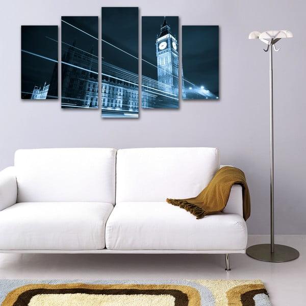 5dílný obraz Big Ben