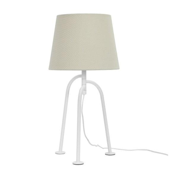 Bílá stolní lampa Garageeight Jay