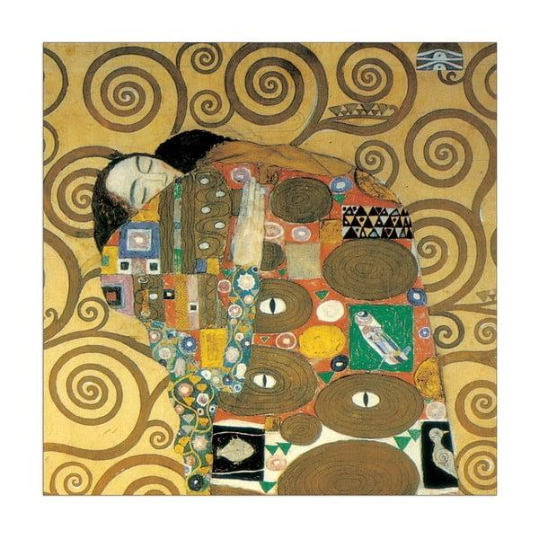 Gustav Klimt - Detail Objetí