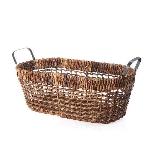 Proutěný košík Oval Wicker, 52 cm