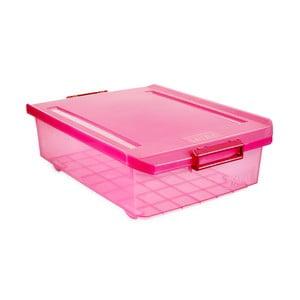 Fuchsiový úložný box pod postel Ta-Tay Storage Box, 32 l