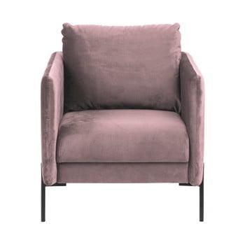 Fotoliu Actona Kingsley, roz pudră de la Actona