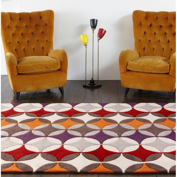 Koberec Asiatic Carpets Harlequin Retro, 120x170 cm