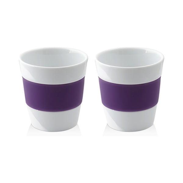 Sada dvou hrnků 250 ml, fialová