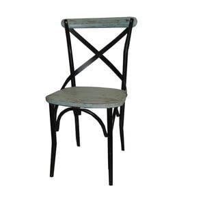 Židle Chaise Industrielle Bleu