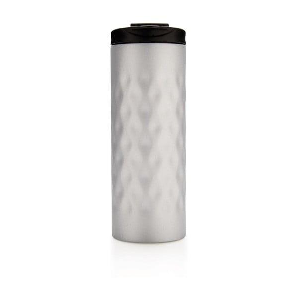 Strieborný termohrnček XD Design Geometric, 350 ml