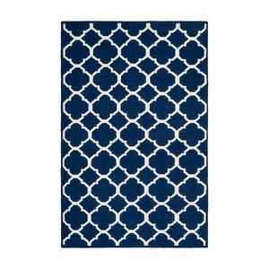 Vlněný koberec Safavieh Dhurrie, 152x243cm