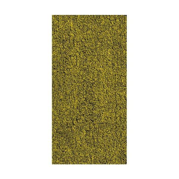 Ručník Ladessa, šedý/žlutý, 70x140 cm
