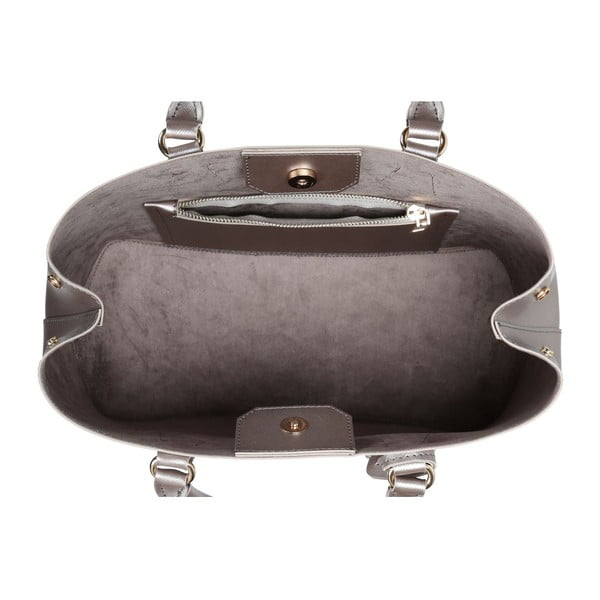 Kabelka ve stříbrné barvě Beverly Hills Polo Club Mona