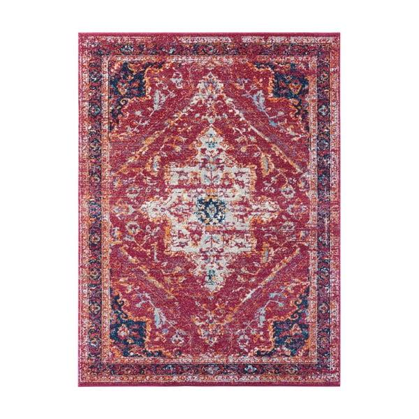 Czerwony dywan Nouristan Azrow, 80x150 cm