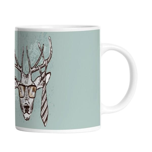 Keramický hrnek Handsome Deer, 330 ml