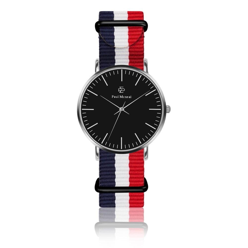 Unisex hodinky s páskem z nylonu Paul McNeal Curmio