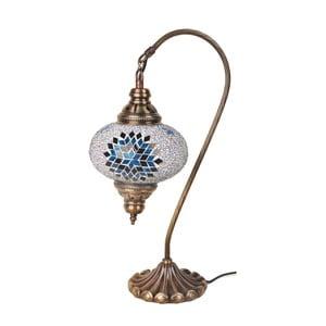 Skleněná lampa Fishing III, 17 cm
