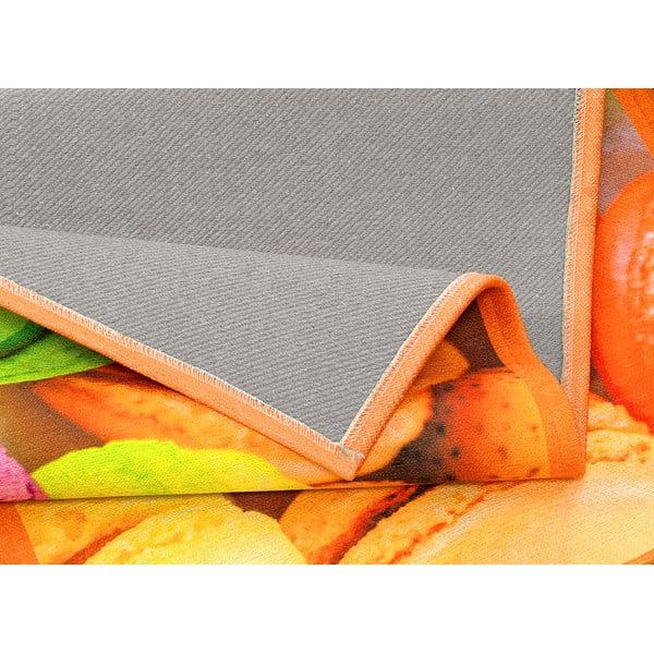 Vysoce odolný kuchyňský koberec Webtappeti Macarons,60x240cm