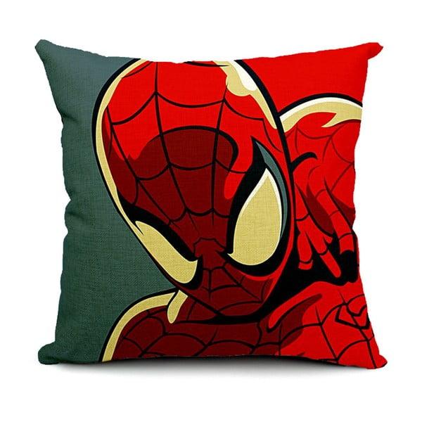 Povlak na polštář Spiderman Face, 45x45 cm