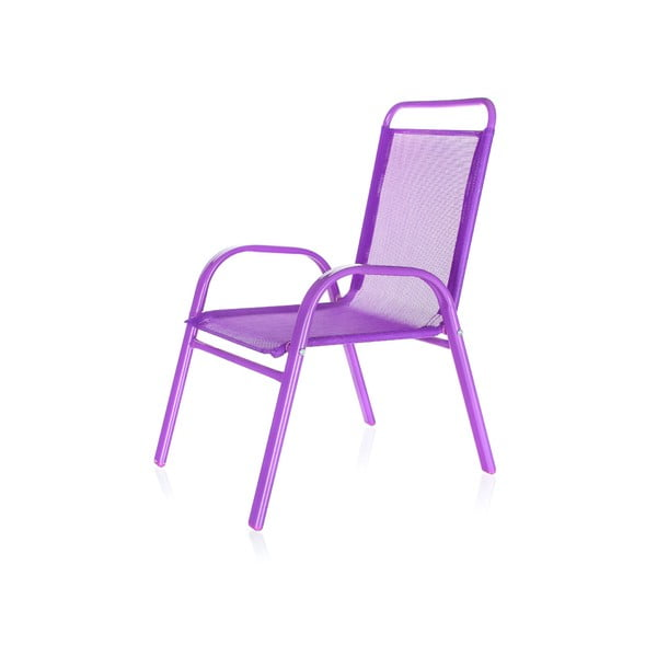 Dětská zahradní židle Kids, fialová