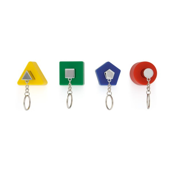 Barevný ěšák na klíče J-Me Shape