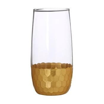 Set 4 pahare din sticlă suflată manual Premier Housewares Astrid, 4,8 dl de la Premier Housewares