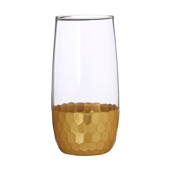 Zestaw 4 szklanek na long drink z ręcznie dmuchanego szkła Premier Housewares Astrid, 4,8 dl