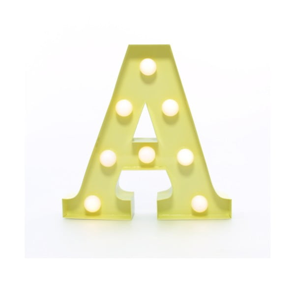 Dekorativní světlo Carnival A, vanilkové
