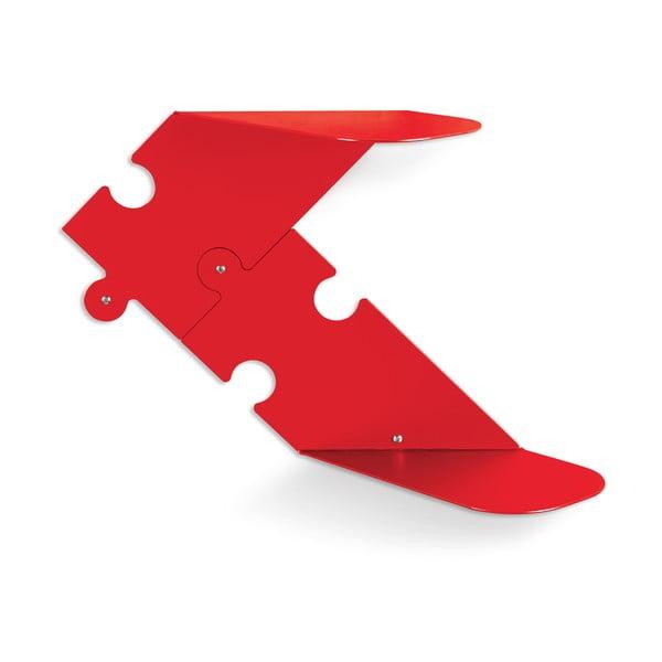 Puzzle, červená, 2 ks